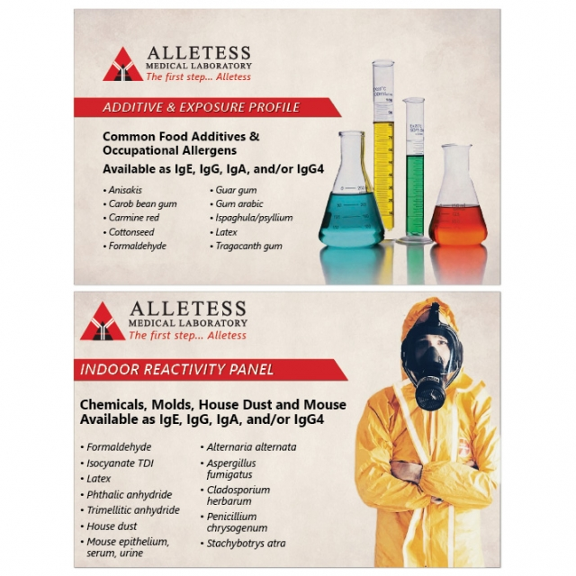 Additive & Exposure / Indoor Reactivity Card