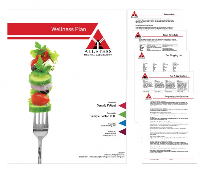 Sample Wellness Plan